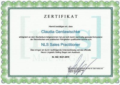 NLS Zertifikat 01.15