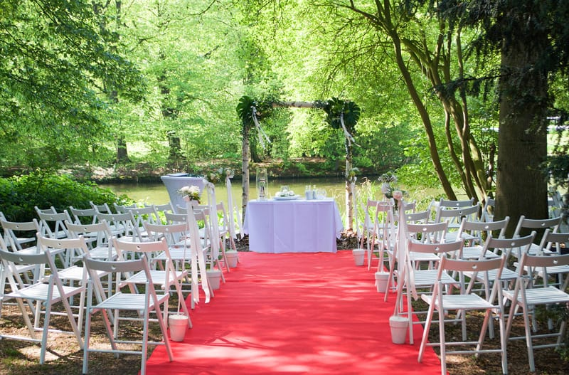 Hochzeitslocation für freie Trauung am See